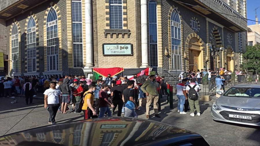 آلاف الأردنيين يحتشدون قرب الحدود مع فلسطين4