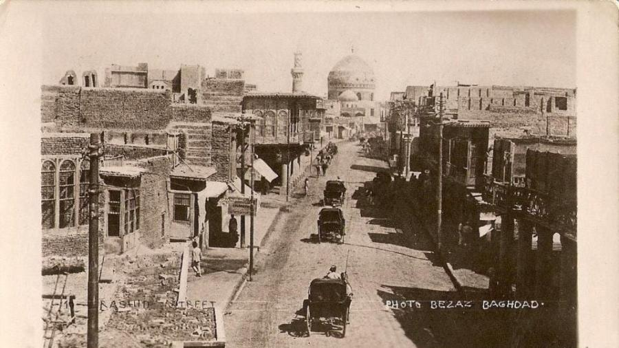 شارع-الرشيد-أو-خليل-باشا-جادّه-سي-–-1913