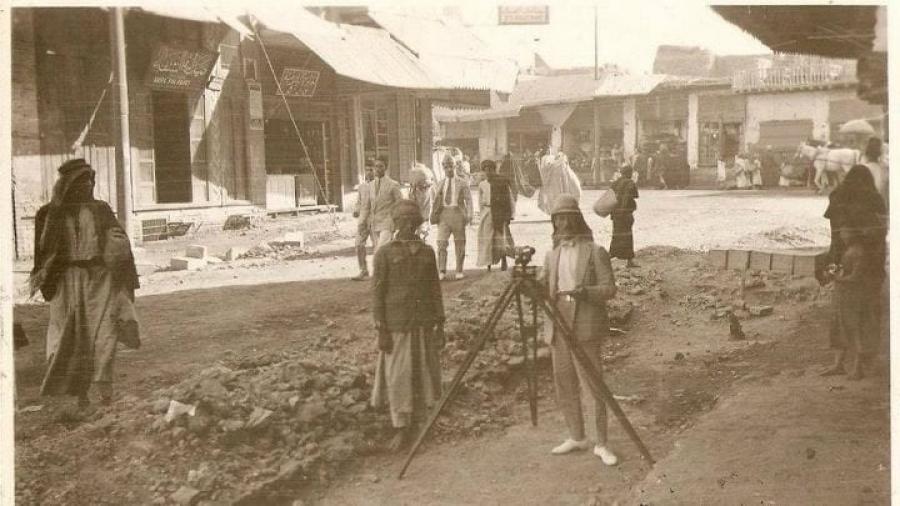 عكد-الصخر-–-شارع-المأمون-الآن-–-1924