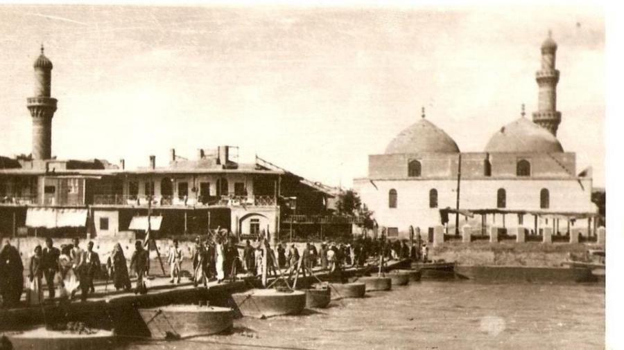 جسر-الكطعة-الشهداء-حاليّا-–-جامع-الآصفيّة
