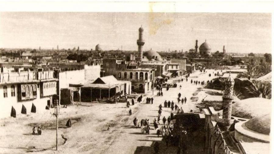 ساحة-باب-المعظّم-–-1918
