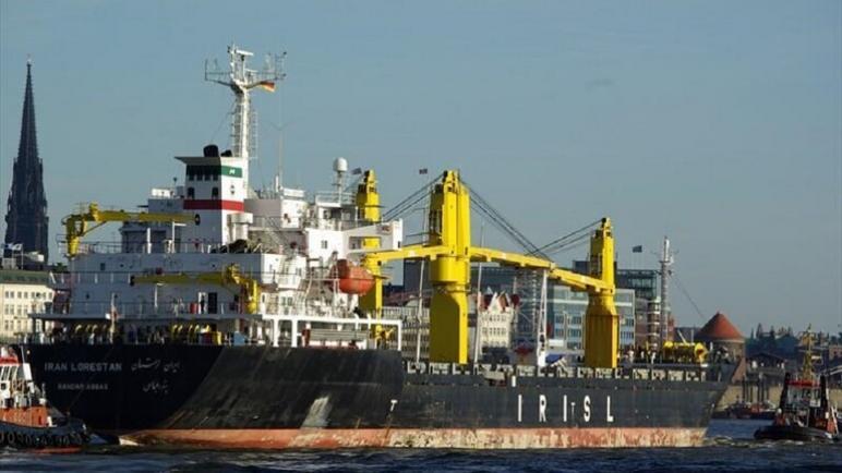 إسرائيل تستهدف سفينة إيرانية في البحر الأحمر