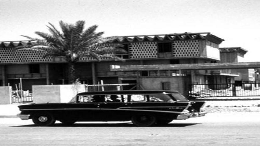 مبنى-سفارة-الولايات-المتّحدة-الأمريكيّة-القديم-في-خمسينيّات-القرن-الماضي-ساحة-الفتح-بغداد