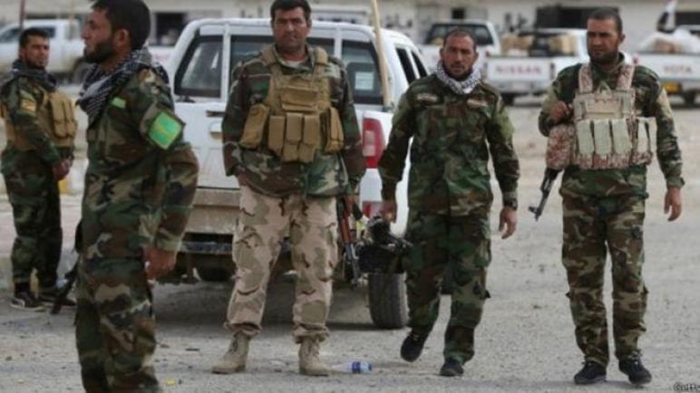 مقتل 4 من عناصر (( الحشد الشعبي )) بضربة جوية على الحدود العراقية-السورية